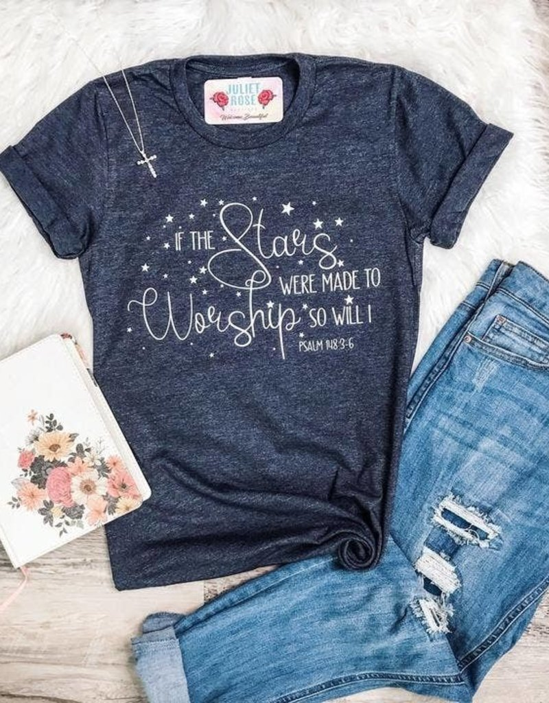 If the Stars Were Made to Worship Graphic T-Shirt