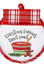 Christmas Calories Don't Count Hot Pad/Towel