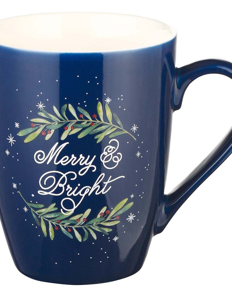 Merry & Bright Ceramic Christmas Mug