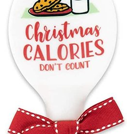 Christmas Calories Silicone Spoon