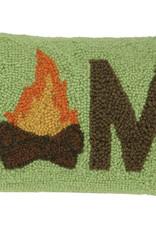 Camp Marshmallow Hook Pillow