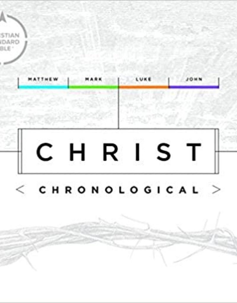 CSB Christ Chronological-Hardcover
