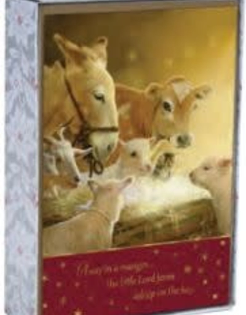 CMAS Boxed:  Away in a Manger  J6340