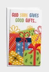 CMAS Boxed:  God Sure Gives  J3369