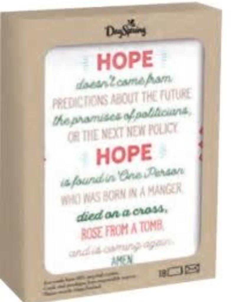 CMAS Boxed:  Hope J6344