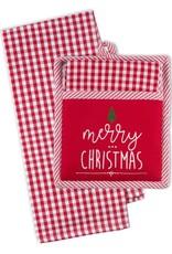 Merry Christmas Tree Potholder Gift Set