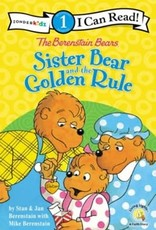 BERENSTAIN BEARS SISTER BEAR AND THE GOLDEN RULE