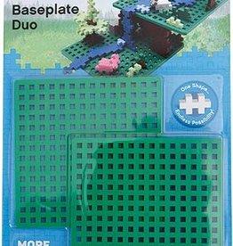 Plus-Plus Baseplate Duo - Green