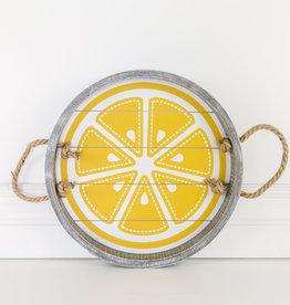 Lemon Ship lap Tray
