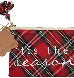 Tis Season Tartan Gift Pouch
