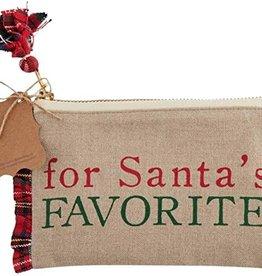 Santa Favorite Gift Pouch