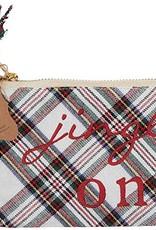 Jingle On Tartan Gift Pouch