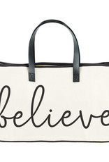 Believe Canvas Totes