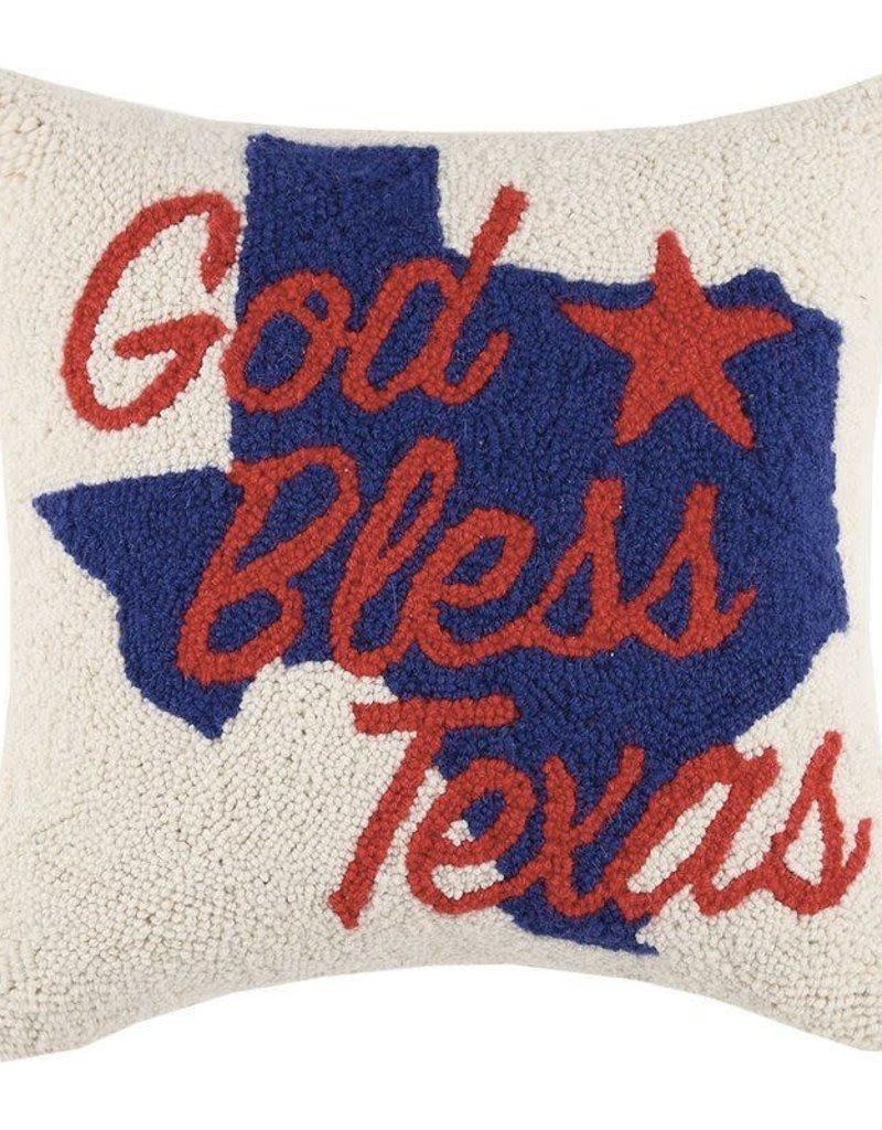 God Bless Texas Hook Pillow