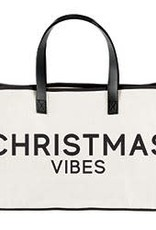Holiday Canvas Tote - Christmas Vibes