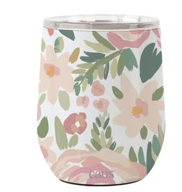 Caus- Stainless Drink Tumbler Coming Up Roses
