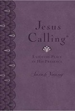Jesus Calling Large Deluxe Lavender