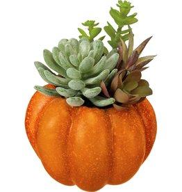 Pumpkin Planter- Orange
