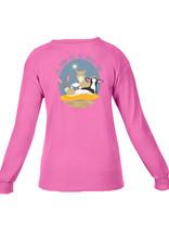 Kids Let us Adore Him LS T-Shirt