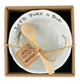 Dip Bowl With WoodenSpoon