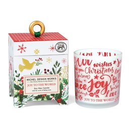 Joy to the World  6.5 oz Soy Wax Candle