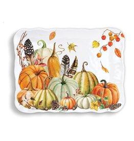 Sweet Pumpkin Melamine Cookie Tray