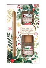 Joy to the World Fragrance Diffuser & Votive Candle Gift Set
