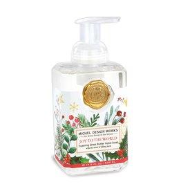Joy to the World Foaming Soap