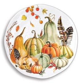 Sweet Pumplking Round Melamine Platter