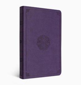 ESV Premium Gift Bible TruTone®, Lavender, Emblem Design