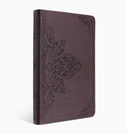 ESV Premium Gift Bible-Chestnut/Filigree Design TruTone