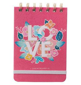 LOVE Wirebound Notepad - 1 Corinthians 13