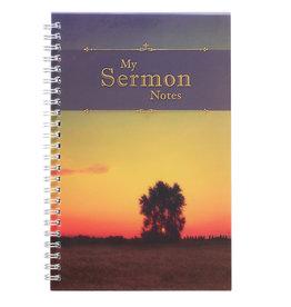 My Sermon Notes Wirebound Notebook with Tree