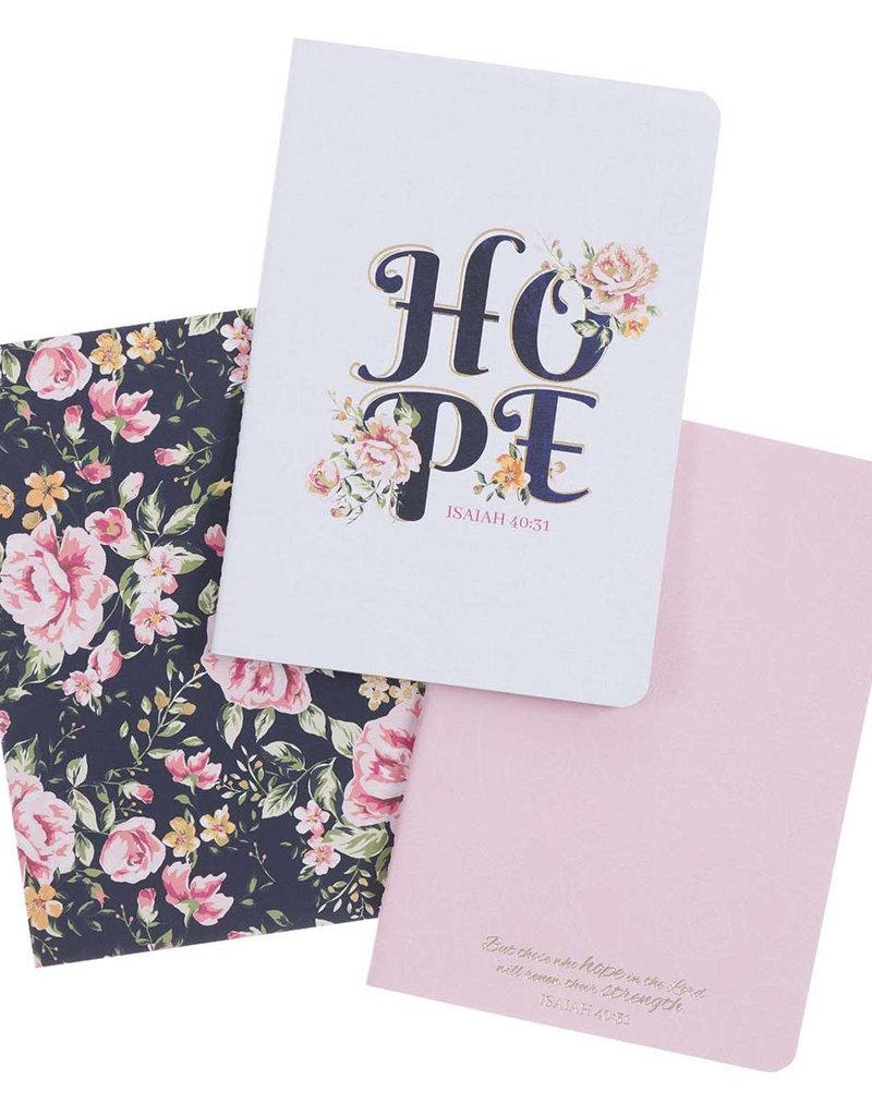 Hope Medium Notebook Set - Isaiah 40:31