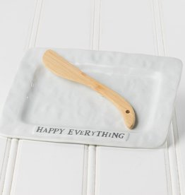 Happy Everything Plate w/ Spreader