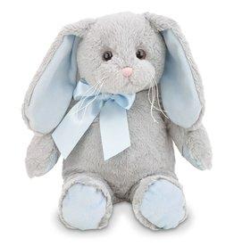 Lil Hopsy Gray Bunny with Blue Ears
