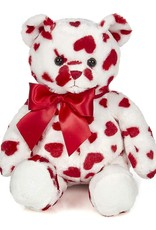 Big Cutie the heart print teddy bear
