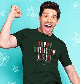 Christmas T-Shirt Happy Birthday Jesus
