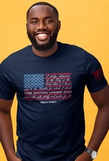 HOLD FAST Mens T-Shirt Pledge Allegiance