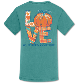 Pumpkin Love Southern Couture Comfort Color Tee