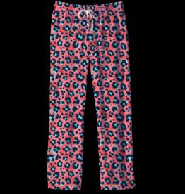 Lounge Pants Coral Leopard