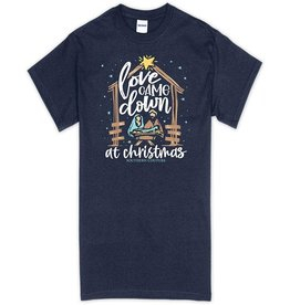 Southern Couture Love Came Down Holiday Soft T-Shirt