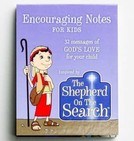 Shepherd on the Search For Kids Encouraging Notes