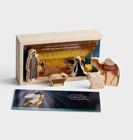 Jesus is Born Nativity Bible Box Story