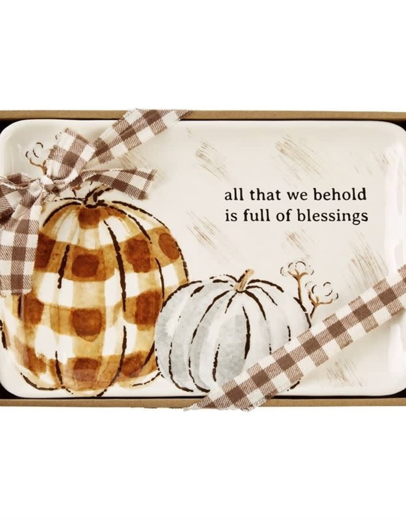 ALL THAT WE HOLD PUMPKIN SENTIMENT TRAY