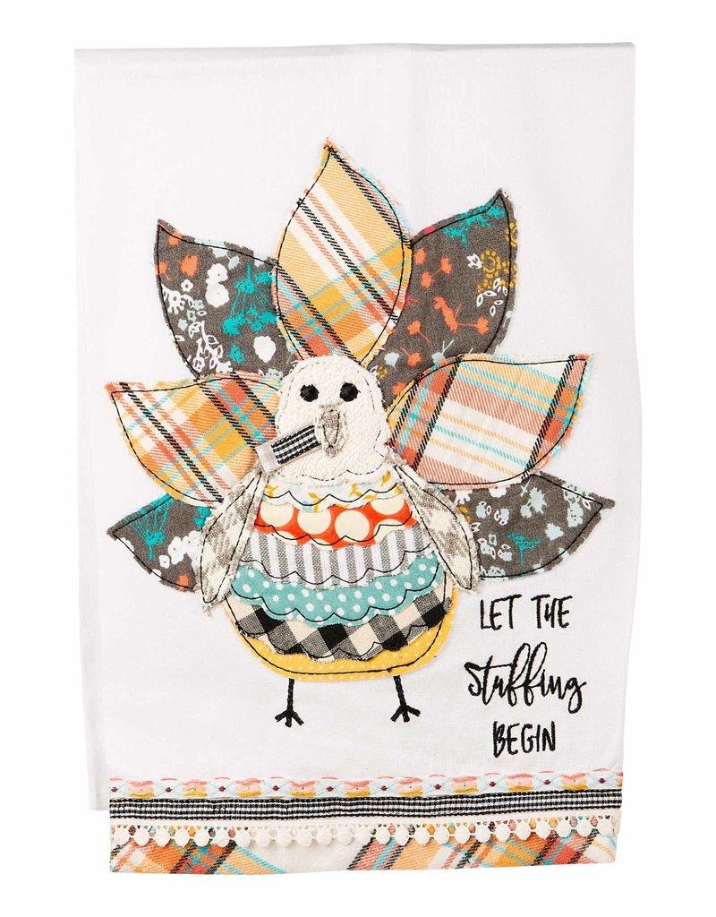 Let the Stuffing Begin Tea Towel