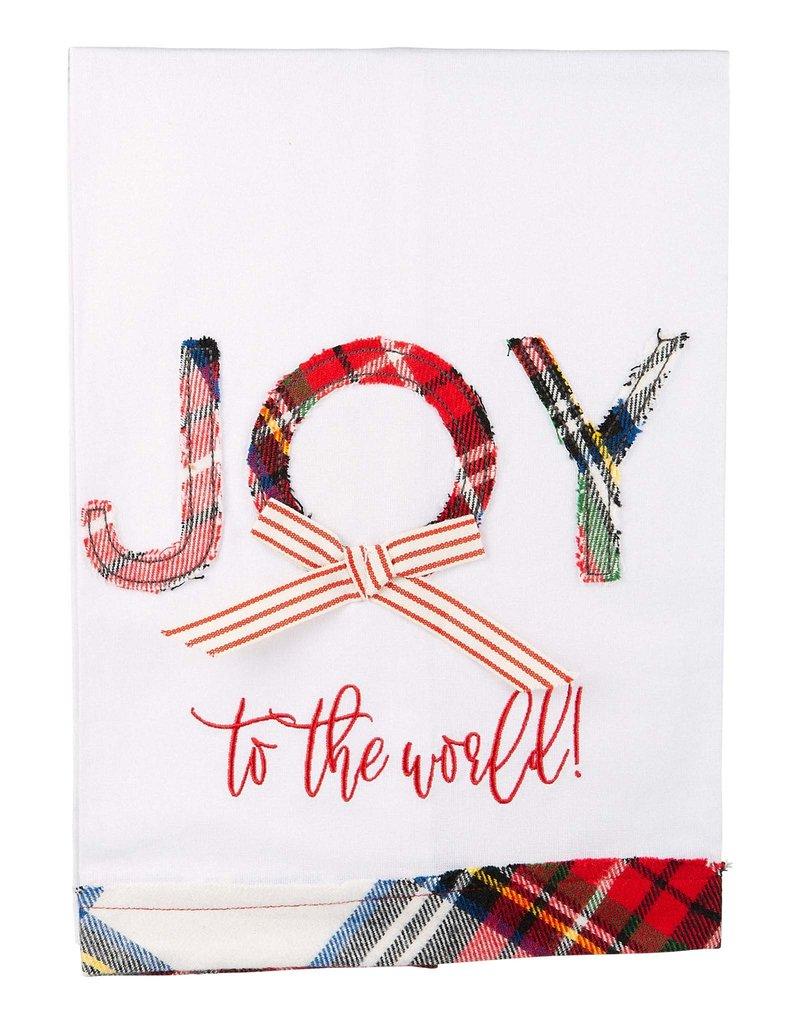 Joy to the World Tea Towel