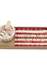Christmas Tray & Dip Set