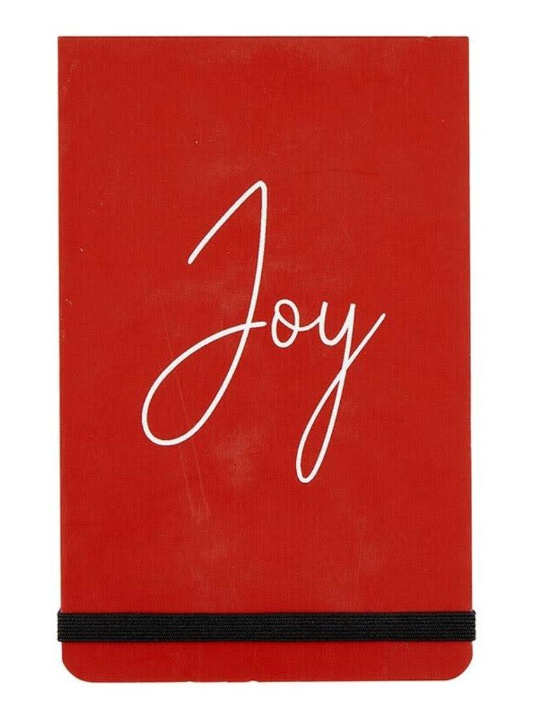 3x5 Notepad - Christmas Joy (Red)