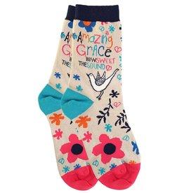 Socks- Amazing Grace Bird